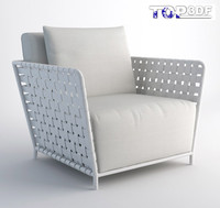 3ds max inout 801fw armchair