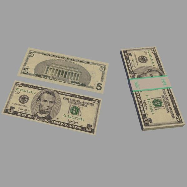 obj $5 bill