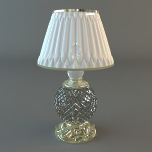 table lamp 3d x