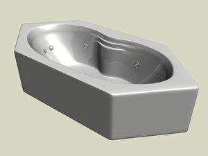3d model of bath 02