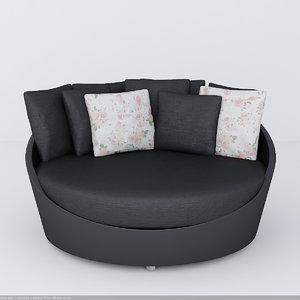 max kenzo arco armchairs
