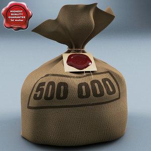 money bag c4d