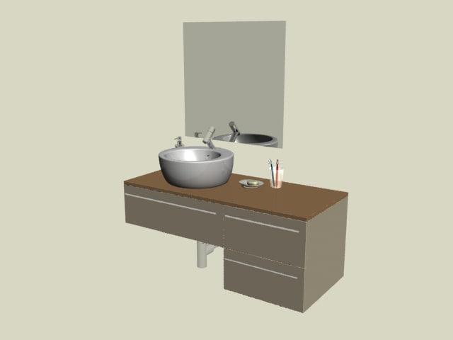 3d bath set 01