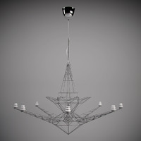 max tom dixon lightweight chandelier