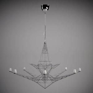 max tom dixon lightweight chandelier