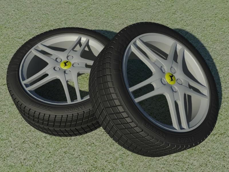 3ds 430 alloy wheel