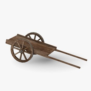 medieval cart 3ds