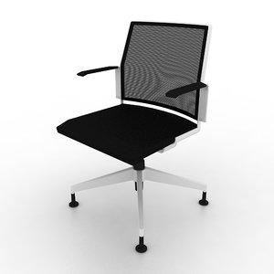 3d model dynamobel dis chair