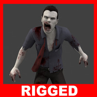 Zombie (Man) (Rigged)