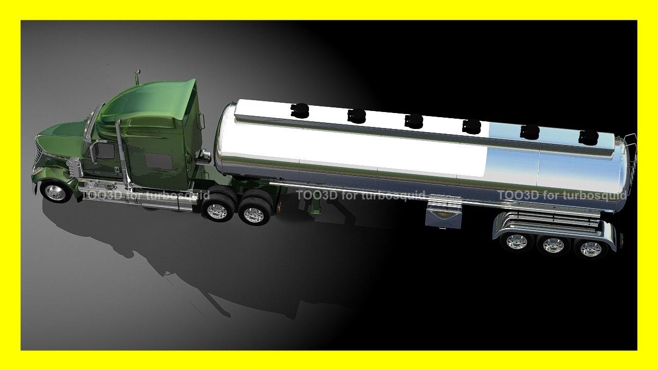 3dsmax truck trailer