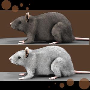 3ds max realistic rat fur