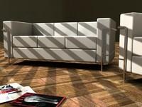 Le Corbusier sofa 01