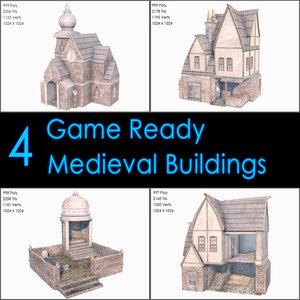 medieval buildings max