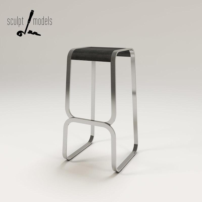 3d model continuum stool