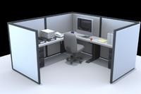 office cubicle desk lwo