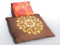 pillow 3d max