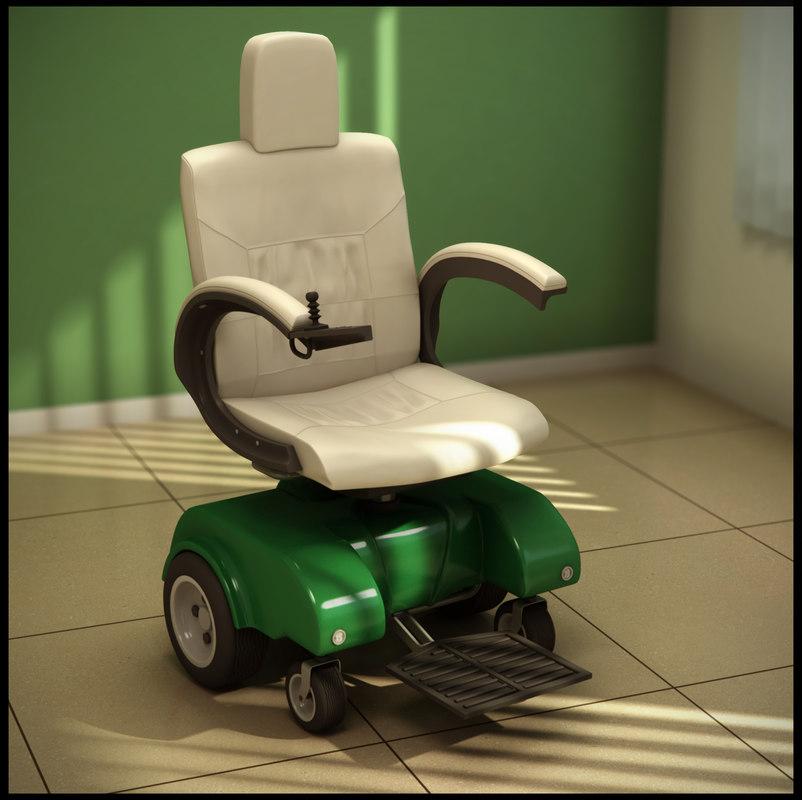 3d electric wheelchair