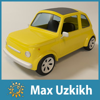 maya cartoon toy car