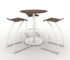 stools table max