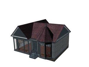 terror village horror 3d model