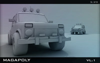 3ds max jeep car