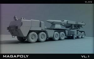 3d model set collection