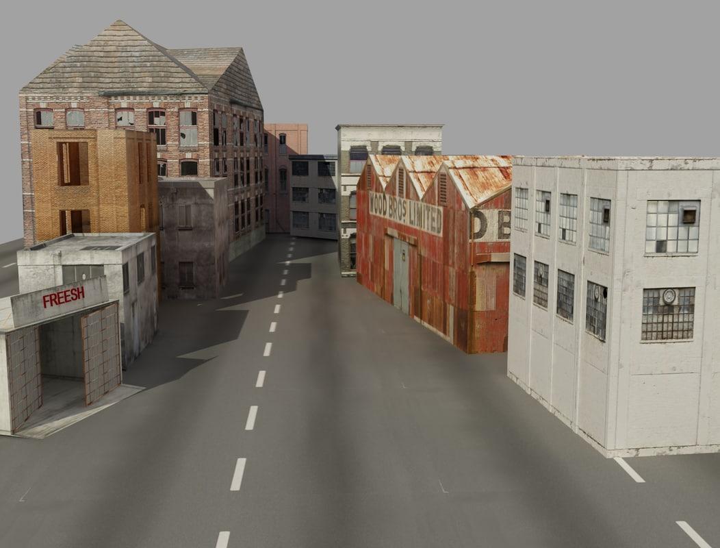 3d 3ds buildings