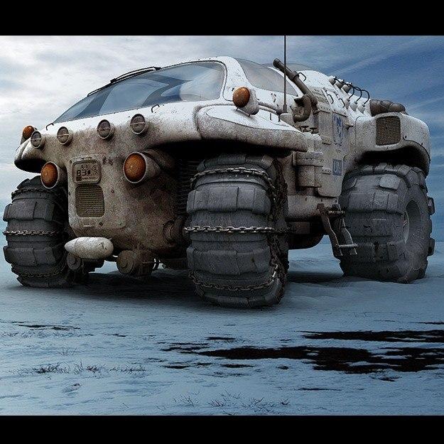 3d terrain sci fi