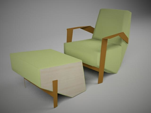 max chair footrest