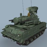 3ds russian tunguska-m1 sa-19 grison
