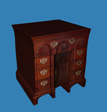3d victorian night stand