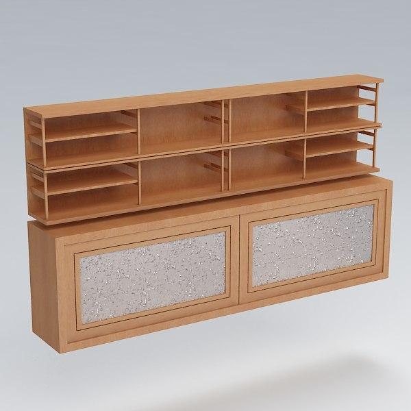 free shelves 3d model
