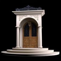 3d entrance doors