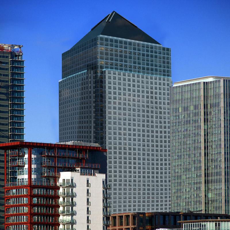 3d canada square london city