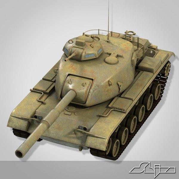 gun tank m60 patton max