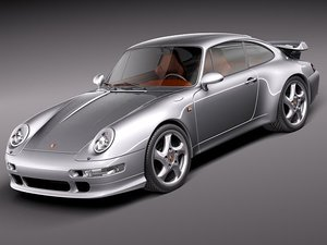 porsche 911 993 sport 3d 3ds