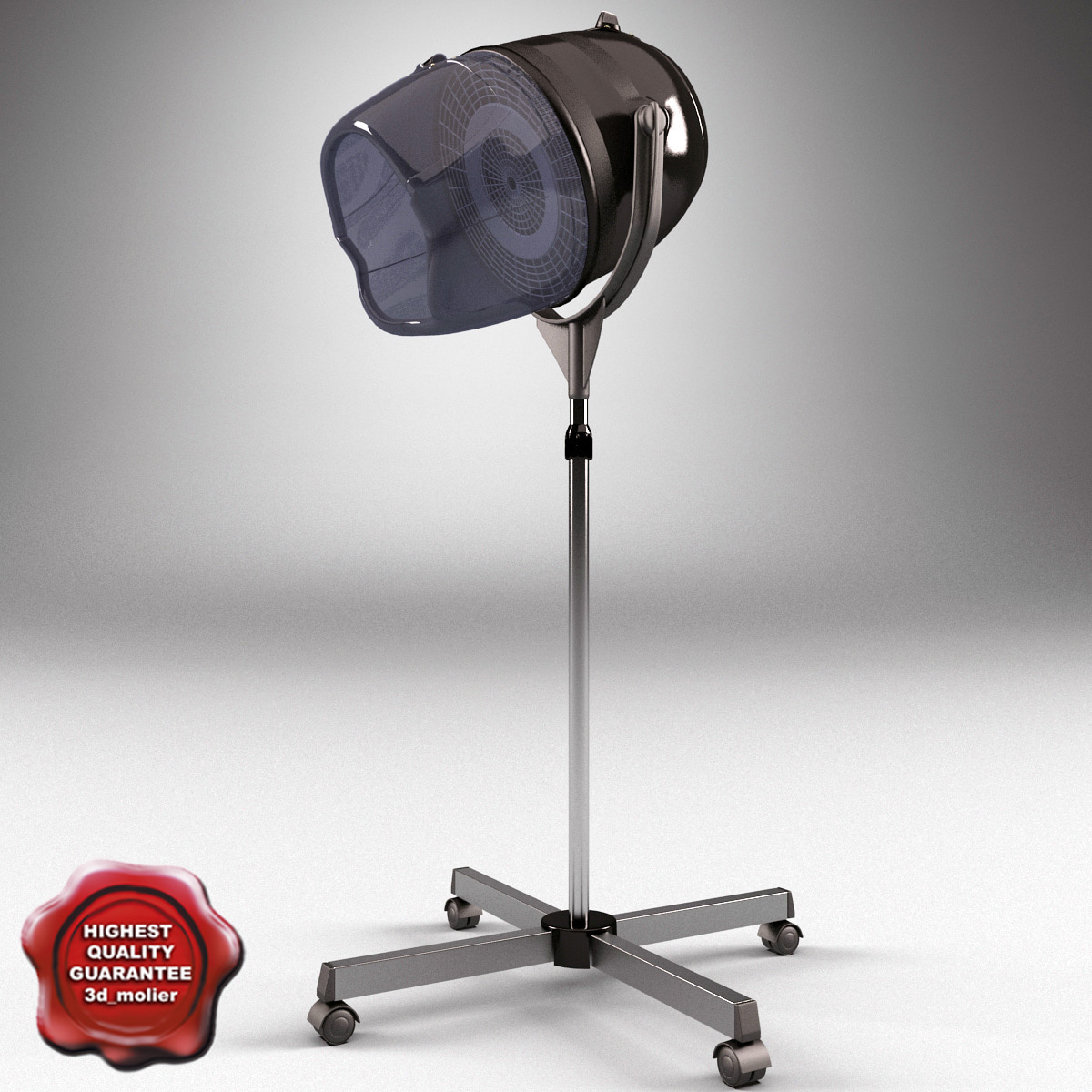 Salon stand hair dryer 3ds for Stand salon original