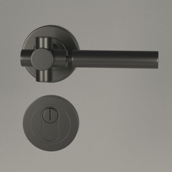 3d model of door handle