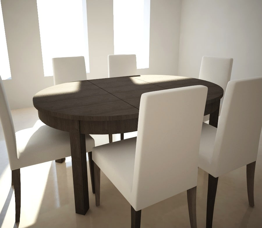 Table Henricksdal And Chairs IkeaBjurstaamp; Extensible TlJKc3u1F