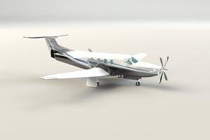 3d model corporate jet