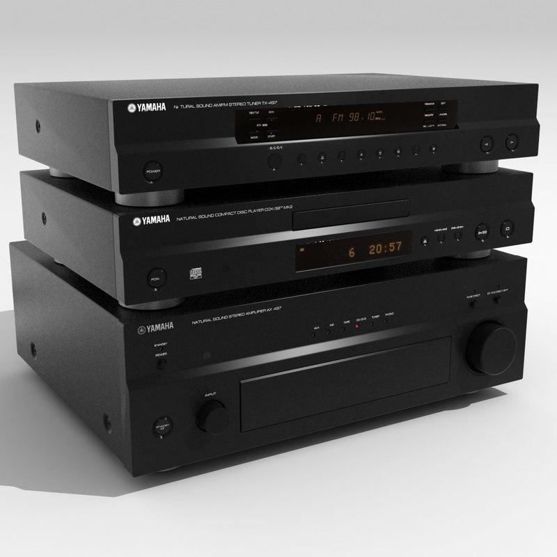 3d model stereo hifi
