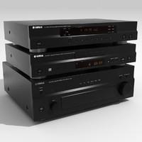 Yamaha stereo system