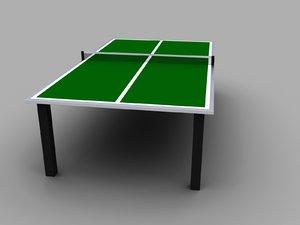tennis table max free