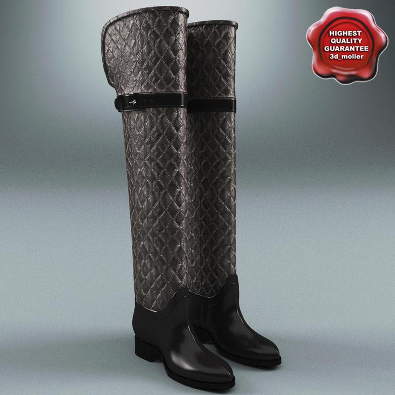 3d model womens shoes mia donna