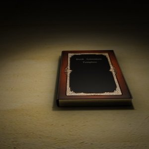 3d model book animation open