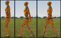 Robot - Rigged 3dsMAX2011 - E-tommy
