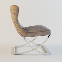 3d model baxter paloma chair