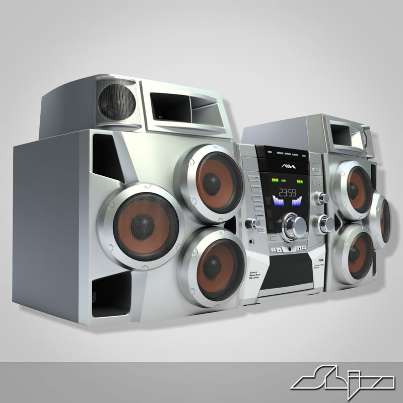 3d max music center aiwa jax