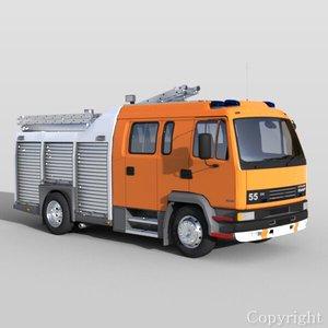 3d model daf leyland 55