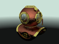 free fbx mode diving helmet
